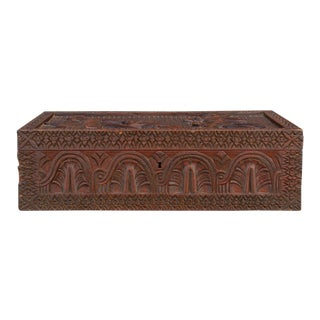 19th Century Anglo Indian Writing Box For Sale