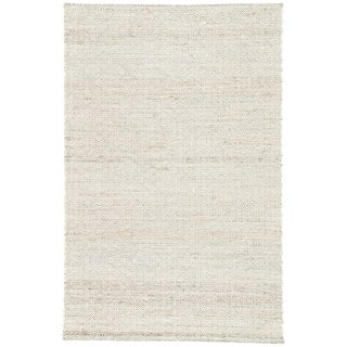 Jaipur Living Wales Natural Geometric Tan/ White Area Rug - 9′ × 12′ For Sale