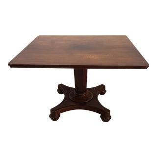 English Tilt Top Table For Sale