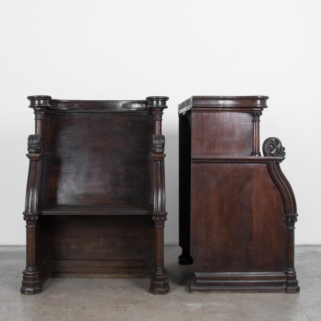Late 19th Century 19th Century French Choir Stalls - a Pair For Sale - Image 5 of 13