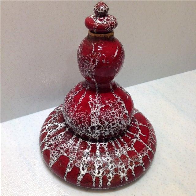 Mid-Century Studio Pottery Genie Bottle - Image 2 of 11