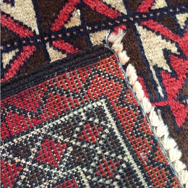 Balluchi Persian Handmade Rug - 2′11″ × 4′7″ - Image 8 of 8