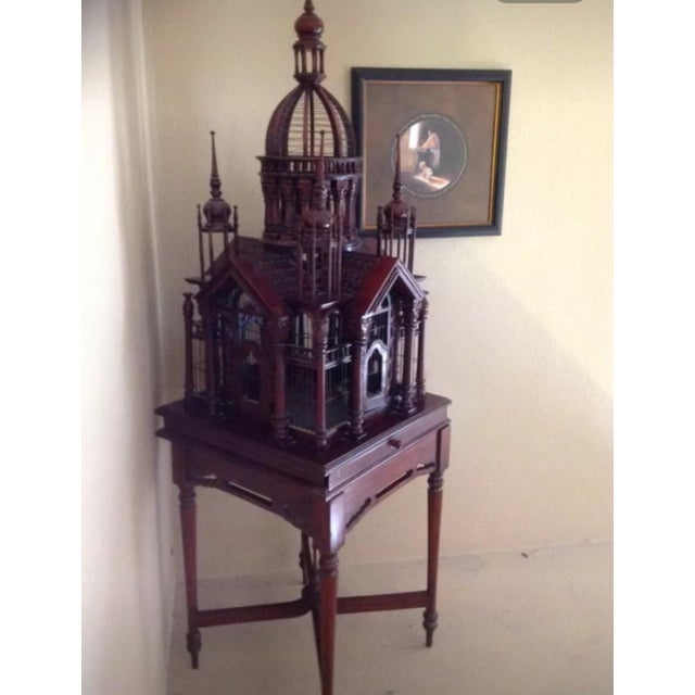 Antique Victorian Birdcage - Image 3 of 9
