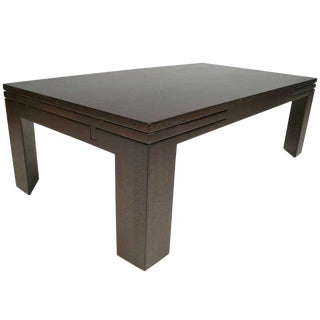Edward Wormley Expandable Coffee Table For Sale