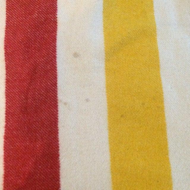 Vintage Hudson Bay Point Blanket - Image 5 of 9