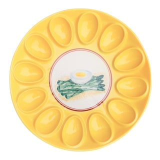 Italian Deviled Egg Serving Dish