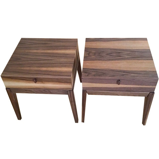 Huppe Muebles Inc. Nightstands - A Pair - Image 1 of 7