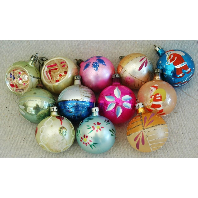1960s Christmas Ornaments with Box - Set of 12 - Image 2 of 8