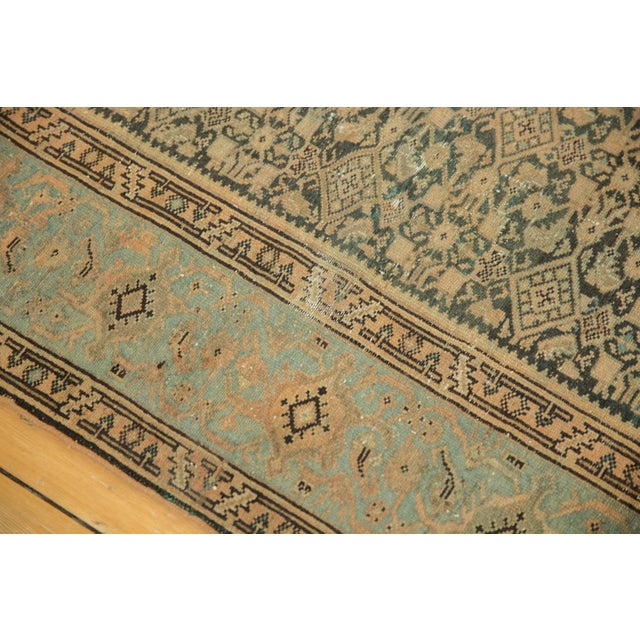 "Islamic Vintage Distressed Malayer Carpet - 7' X 10'2"" For Sale - Image 3 of 13"