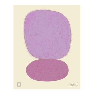 Sun Over Sun, Plum, Premium Giclee Print For Sale