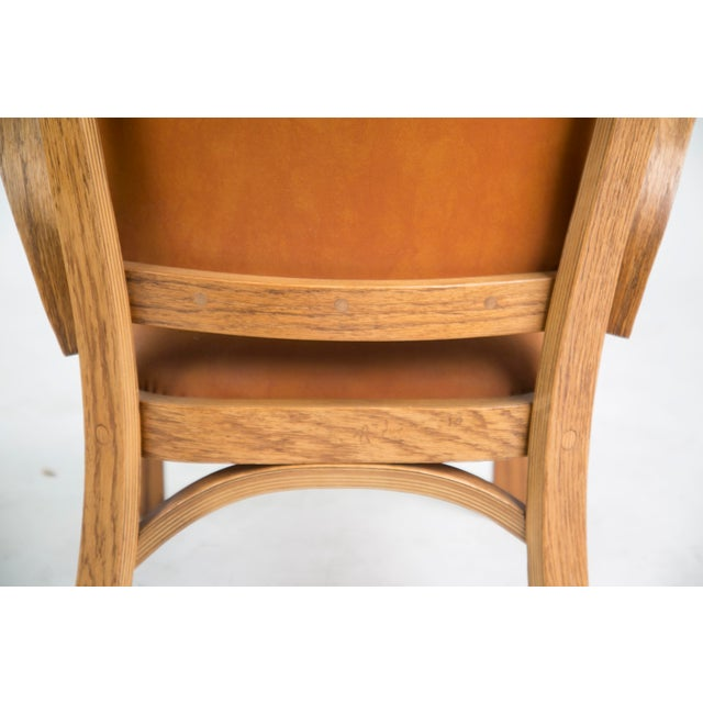 Norman Ridenour Bentwood Low Armchairs - A Pair For Sale - Image 12 of 13
