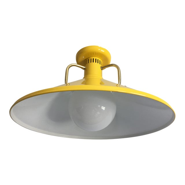 1970s Modern Ceiling Light For Sale