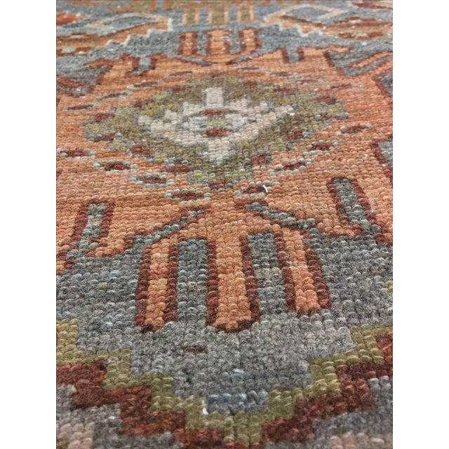 Antique Persian Malayer Runner - 2′10″ × 19′ - Image 10 of 11