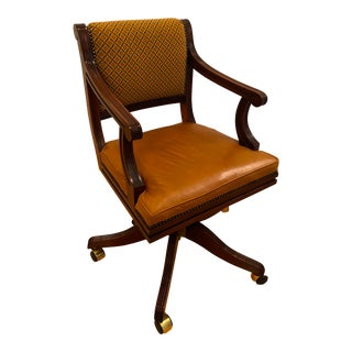 Late 20th Century Bevan Funnell Brittania Swivel Chair For Sale