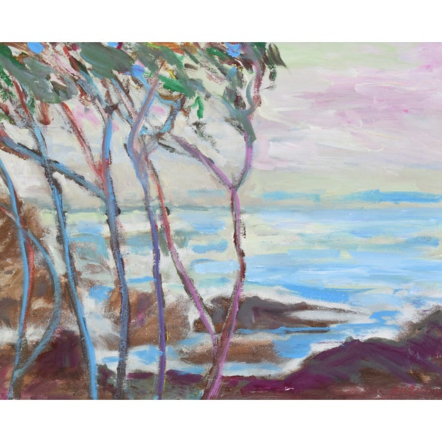 Americana Juan Guzman, Ventura California Seascape/Landscape Painting For Sale - Image 3 of 10