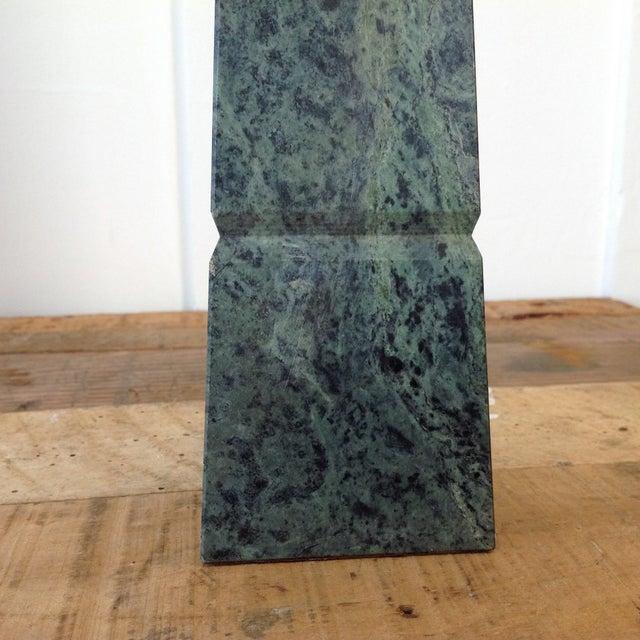 Green Marble Obelisk - Image 10 of 10