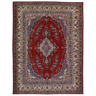 "1970's Vintage Persian Tradition Style Hamadan Rug - 9'2"" X 12'2"" For Sale"