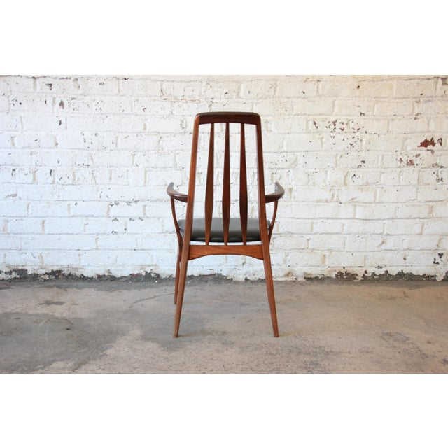 Niels Koefoed for Koefoeds Hornslet Eva Rosewood Dining Chairs- Set of 6 - Image 8 of 11