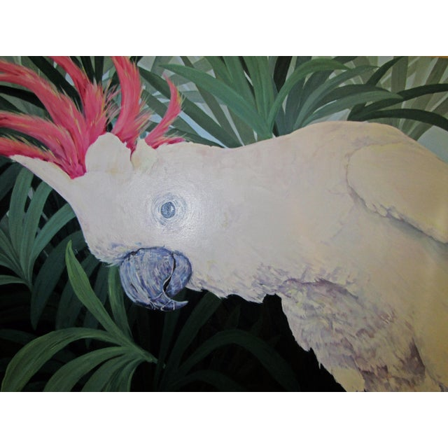 Large Original Cockatoo Painting - Image 5 of 5