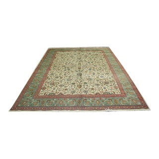 Vintage Contemporary Persian Tabriz Rug For Sale
