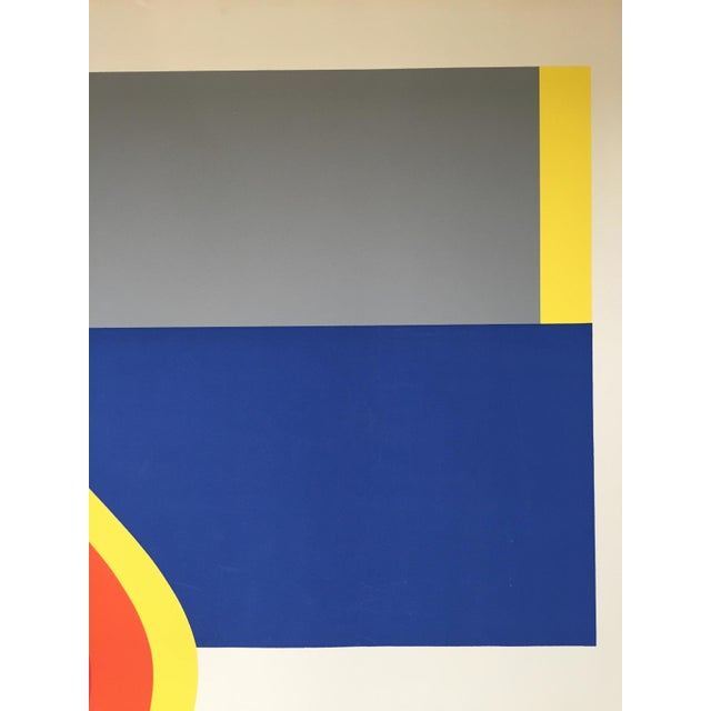 Abstract Nadine Pardo 1972 Abstract Silkscreen For Sale - Image 3 of 9