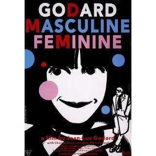 Masculin Feminin R2005 U.S. One Sheet Film Poster For Sale
