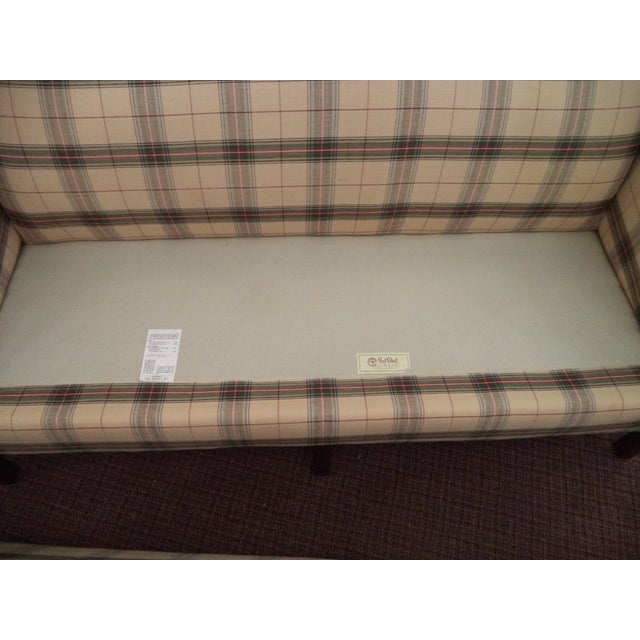 Paul Robert Chippendale Style Camelback Sofa For Sale - Image 5 of 9