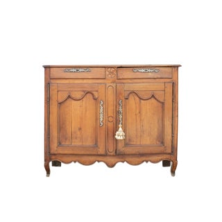 Antique French Fruitwood Buffet For Sale