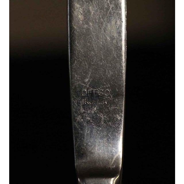 Early 20th Century Authentic Waldorf Astoria Silver Plated Art Deco Steak Knife For Sale - Image 5 of 6