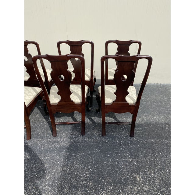 Aston Court by Henredon Chairs - Set of 8 For Sale In Chicago - Image 6 of 9