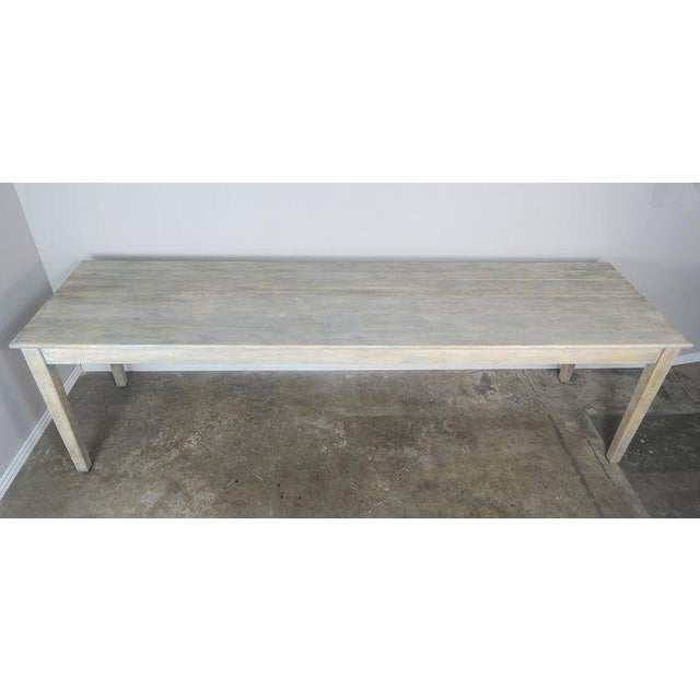 Swedish Painted Farm Table, Circa 1900 For Sale In Los Angeles - Image 6 of 11