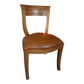 Modern Century Furniture Industries Town and Country Phyfe Side Chair For Sale