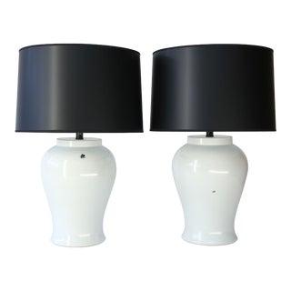 Custom Ceramic 'Fly' Lamp For Sale