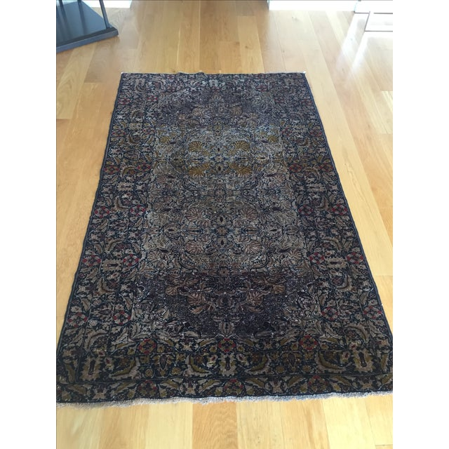 Antique Persian Rug - 3′6″ × 5′10″ - Image 2 of 4