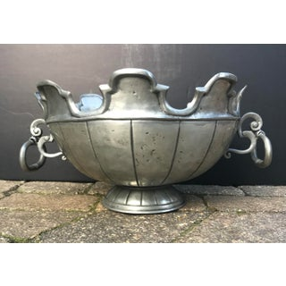 Vintage English Pewter Monteith Punchbowl / Wine Chiller Preview