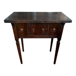17th Century Spanish Walnut Campaign or Tavern Table For Sale