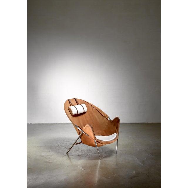 Brown Erik Ole Jørgensen Bo360 Lounge Chair, Denmark For Sale - Image 8 of 8