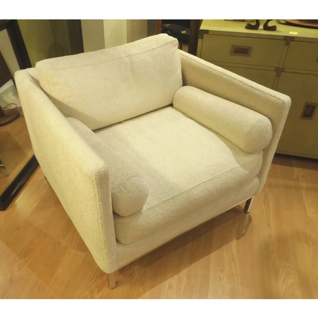 Modern & Smart Florence Knoll Style Armchair by ICF 1960s . - Image 2 of 9