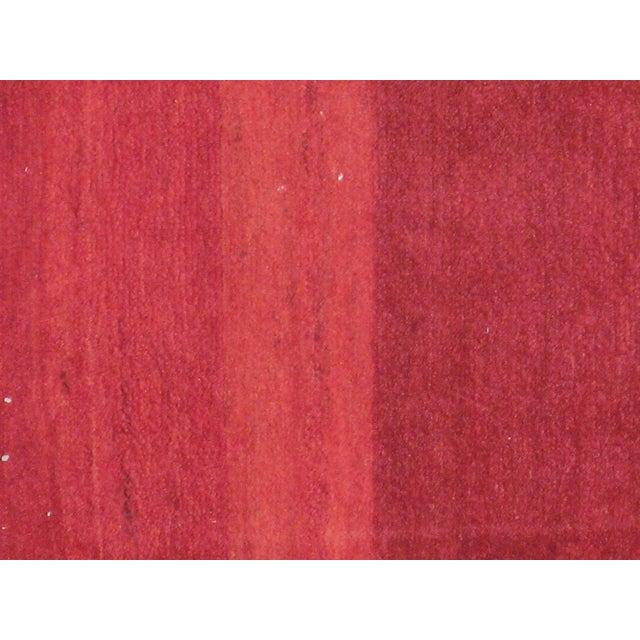 Mid-20th century, vintage Persian Bakhtiari carpet. Hand-woven, professionally washed.