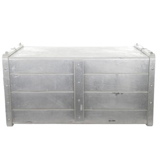 Large Vintage Seco Aluminum Food Service Storage Bin