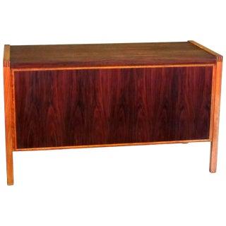 1960s Jacaranda Rosewood & Teak Desk Mid-Century Modern Columbia South America For Sale