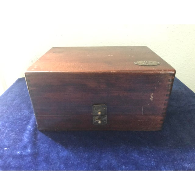Vintage s.s. White Dental Manufacturing Company Zinc Cement Supply Box For Sale - Image 12 of 12