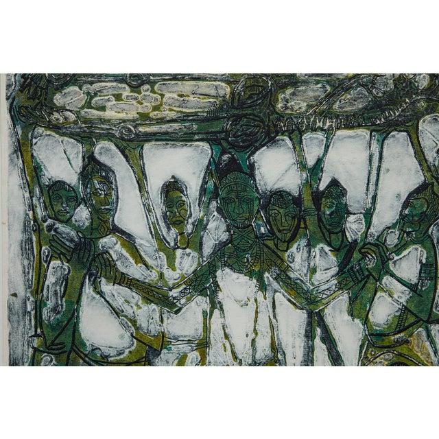 1970s Bruce Onobrakpeya Nomorere Print For Sale - Image 5 of 11