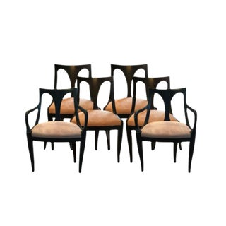 Kindel Belvedere Empire Armchairs & Side Chairs - Set of 6 For Sale