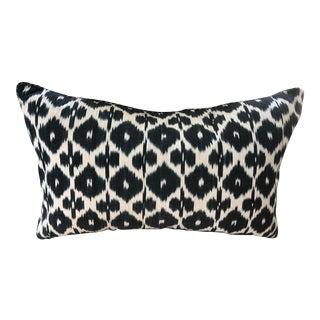 Madeline Weinrib Ikat Lumbar Pillow