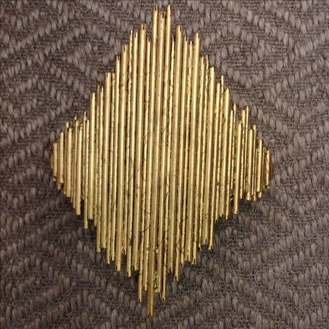 Arteriors Home Gold Wall Sconce - Image 2 of 7