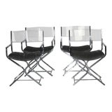 Image of Milo Baughman Style Dining Chairs - Set of 4 For Sale