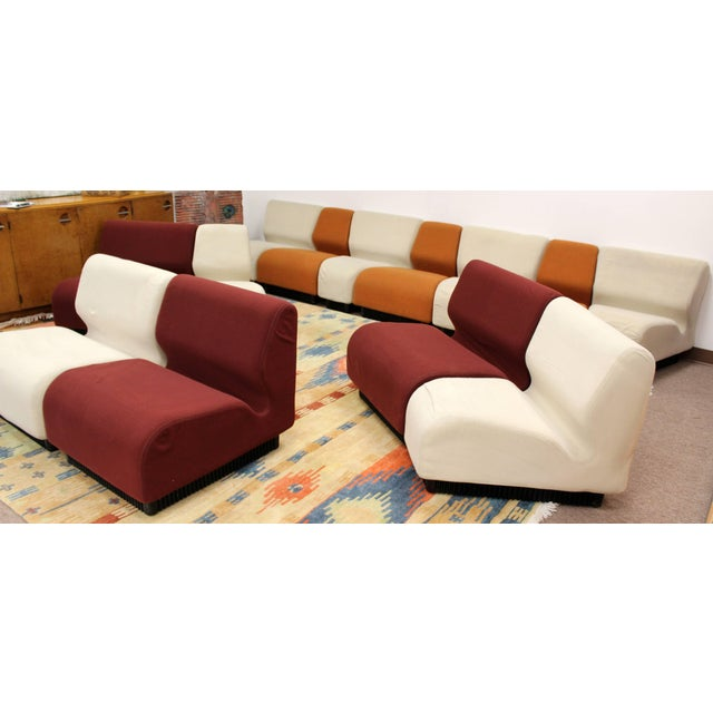 Textile Mid-Century Modern Never Ending Sectional Sofa by Don Chadwick for Herman Miller For Sale - Image 7 of 11