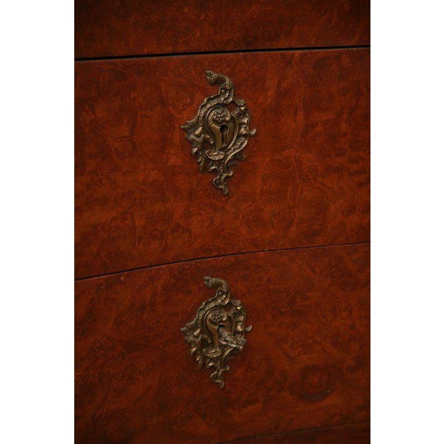 Antique Louis XV Chest of Drawers With Verona Marble Top For Sale - Image 9 of 10