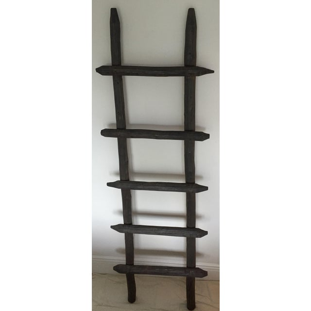Rustic Wooden Ladder - Image 2 of 8